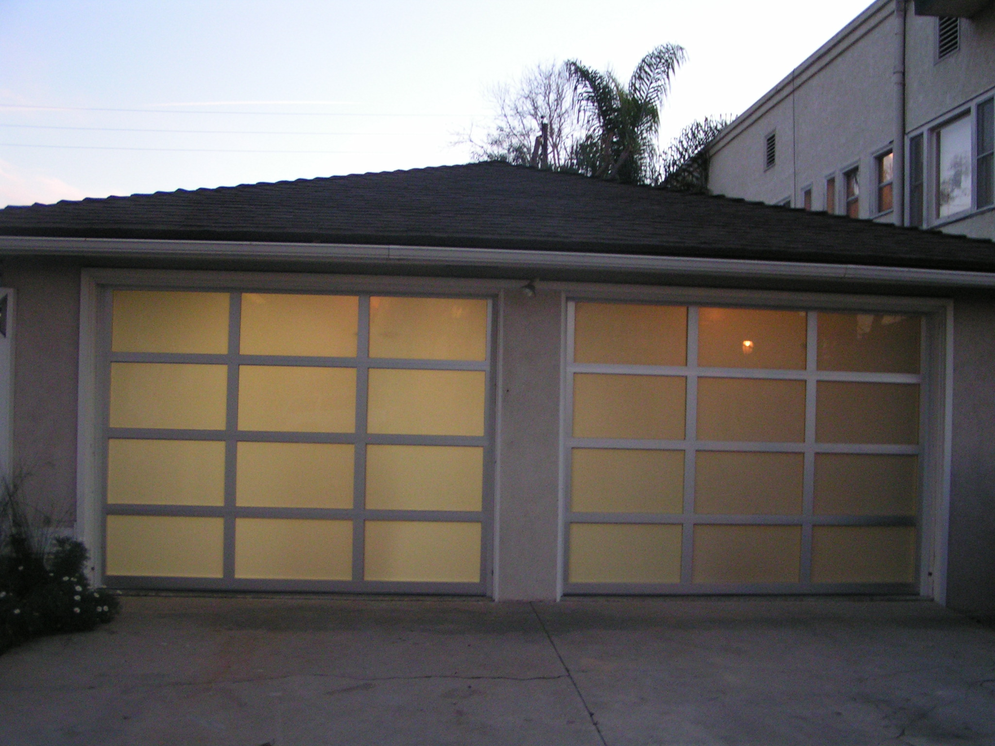 1536 #2C589F  Can Be Custom Made As Either A Sectional Panel Door Or As A Tilt Door wallpaper Louvered Garage Doors 38252048