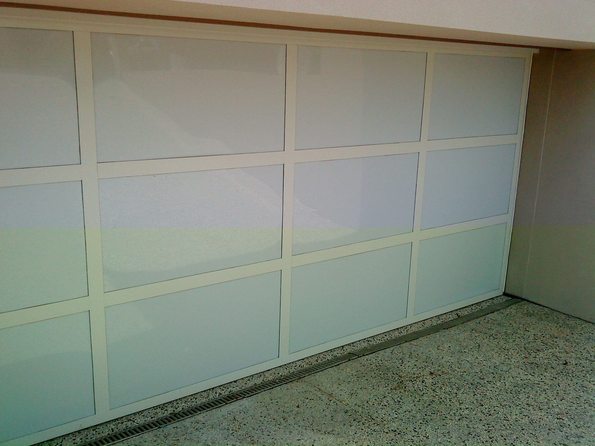 1536 #5B4936  Can Be Custom Made As Either A Sectional Panel Door Or As A Tilt Door wallpaper Louvered Garage Doors 38252048